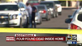 Shooting at Scottsdale leaves 4 people dead, 2 adults and 2 children - Video