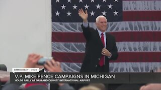Vice President Pence campaigns in Waterford Township