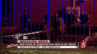 Man Dies After Being Stabbed In Neck In East Nashville - Video