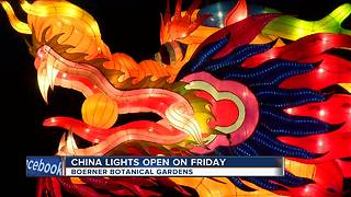 Sneak Peek: China Lights ahead of Friday's opening - Video