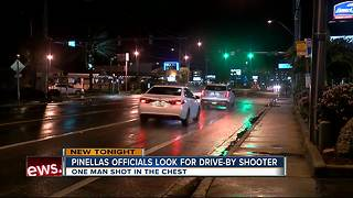 Two people shot at in Pinellas County - Video