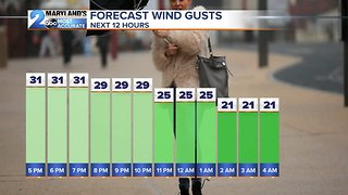 Breezy Conditions Through Tuesday