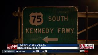 Deadly crash near JFK and L - Video