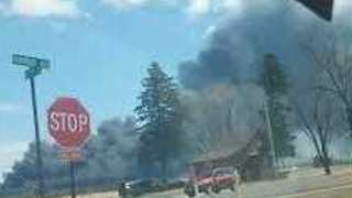 Wisconsin Refinery Fire Some Seen for Miles, Prompts Evacuations