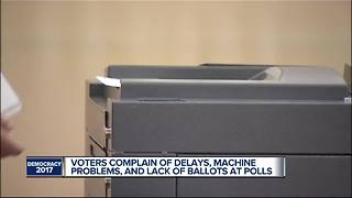 Detroit voters complain of delays, machine problems & lack of ballots - Video