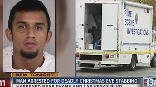 Suspect arrested in fatal North Las Vegas stabbing - Video