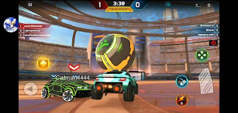 Doing the victory(turbo league)