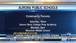 Aurora Public Schools hosting forums