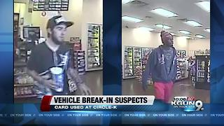 PCSD searching for credit card thieves - Video