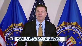 James Comey to participate in closed-door interviews