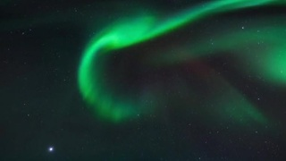 Spectacular light show over Sweden - Video