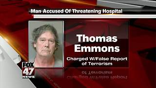 Former patient accused of threatening Lansing McLaren Hospital - Video