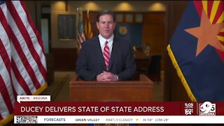 Governor Ducey delivers State of the State address Monday