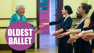 Meet the ballet dancer still teaching classes aged 97 - Video
