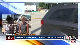 Boulevardia preps for events and heat - Video