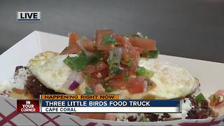 Three Little Birds food truck - Video