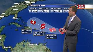 Saturday evening Irma update with Jason - Video