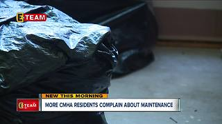 More CMHA residents complain about maintenance - Video