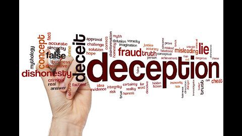 Mass Deceptions Are Maintained With Cognitive Dissonance & Confirmation Bias