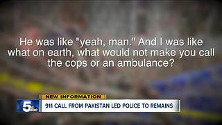 911 call from Pakistan led police to a chilling discovery - Video