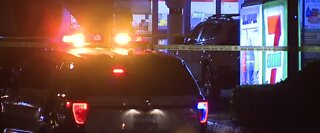 Vegas police investigate homicide outside west valley 7-Eleven