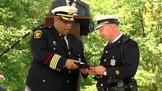 Chief honors officers involved in shooting