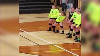 Girl's *epic* Pre-Game Dance Routine