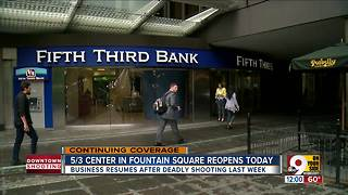 Employees return to Fifth Third Center days after shooting