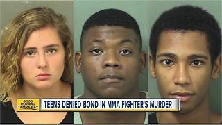 3 Florida teens charged with murdering MMA fighter - Video
