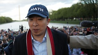 Andrew Yang's Presidential Rally