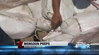 City offers sandbags for monsoon flooding protection - Video