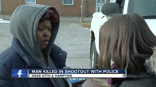 A neighborhood is shaken after officer involved shooting