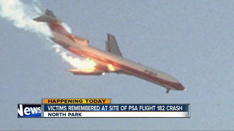 PSA Flight 182 crash witnesses recall tragedy