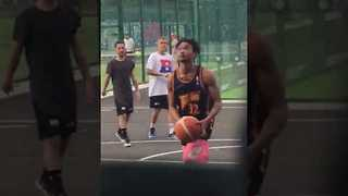 Justin Bieber Spotted Playing Basketball in Dublin - Video