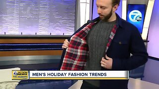 Men's holiday fashion trends