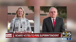 Board votes to fire superintendent in Scottsdale - Video