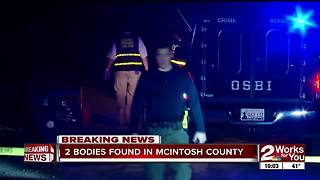 UPDATE: McIntosh County deputies investigate after two bodies found - Video
