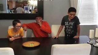 Delicious Treat Reveals Surprise for Three Brothers - Video