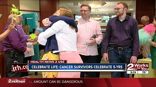 Celebrate Life: Cancer survivors celebrate five years of winning battle