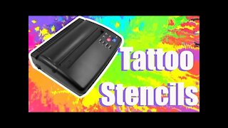 How to use a 💥THERMAL PRINTER💥 to make tattoo stencils🤘!!