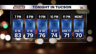 Chief Meteorologist Erin Christiansen's KGUN 9 Forecast Tuesday, October 24, 2017 - Video