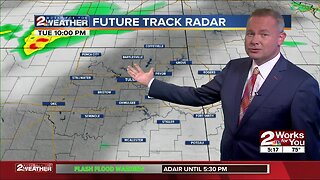 Tuesday night weather