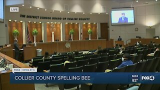 Collier County Spelling Bee underway