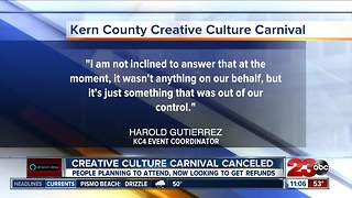 Music Carnival Canceled