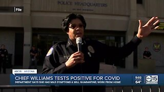Phoenix PD Chief Williams tests positive for COVID-19