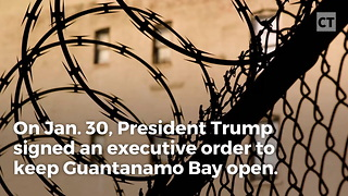 Muslim Group Freaks After Learning About Trump's New Guantanamo Bay Orders - Video