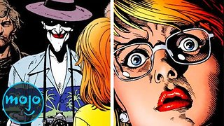 Top 10 Most Disturbing Moments In DC Comics - Video