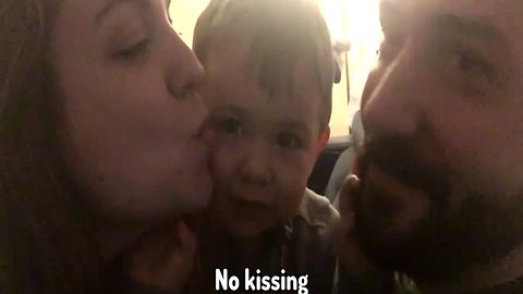 Kids Hate When Mom and Dad Kiss!