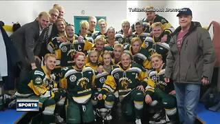 Milwaukee Admirals support Humboldt Broncos after tragic accident - Video