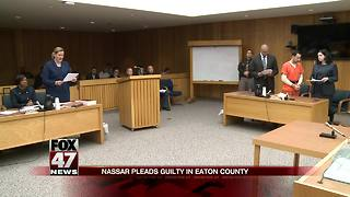 Larry Nassar pleads guilty, faces another 25-40 years in prison - Video